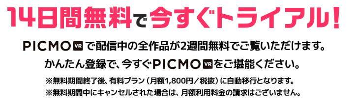 PICMO VR無料体験